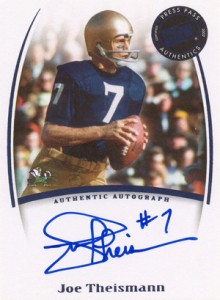 Notre Dame Football Cards: Collecting the Fighting Irish 3