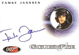 Top 10 James Bond Autographed Trading Cards 10