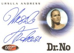 Top 10 James Bond Autographed Trading Cards 3