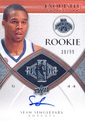 2008-09 Upper Deck Exquisite Collection Basketball Cards 24