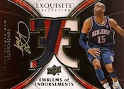 2008-09 Upper Deck Exquisite Collection Basketball Cards 28