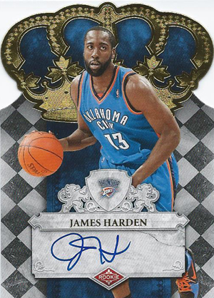 2009-10 Panini Crown Royale James Harden RC