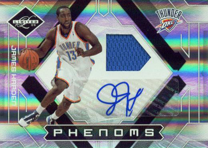 2009-10 Panini Limited James Harden RC
