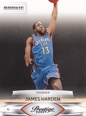 James Harden Rookie Cards and Autograph Memorabilia Guide 1