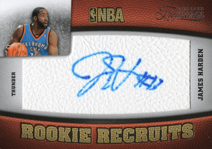 2009-10 Panini Timeless Treasures James Harden RC