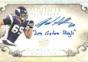 2009 Upper Deck Exquisite Collection Football Cards 26