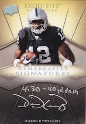 2009 Upper Deck Exquisite Collection Football Cards 39