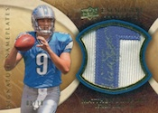 2009 Upper Deck Exquisite Collection Football Cards 43