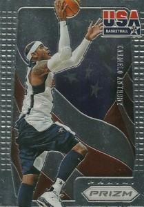 2012-13 Panini Prizm Basketball USA Basketball 12 Carmelo Anthony
