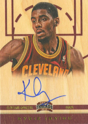 Kyrie Irving Rookie Cards and Autograph Memorabilia Guide 3