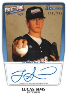 2012 Bowman Draft AFLAC, Perfect Game and Under Armour Autographs Guide 13