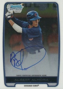 2012 Bowman Draft Pick and Prospects Baseball Prospect Autographs Guide 1