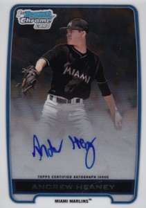 2012 Bowman Draft Pick and Prospects Baseball Prospect Autographs Guide 3