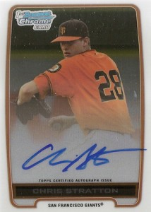 2012 Bowman Draft Pick and Prospects Baseball Prospect Autographs Guide 9