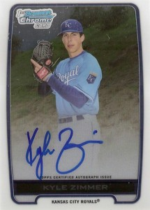 2012 Bowman Draft Pick and Prospects Baseball Prospect Autographs Guide 19