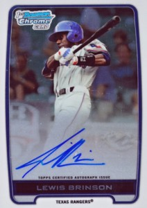 2012 Bowman Draft Pick and Prospects Baseball Prospect Autographs Guide 20