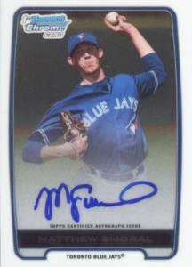 2012 Bowman Draft Pick and Prospects Baseball Prospect Autographs Guide 26
