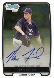 2012 Bowman Draft Pick and Prospects Baseball Prospect Autographs Guide 22