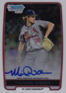 2012 Bowman Draft Pick and Prospects Baseball Prospect Autographs Guide 27