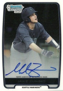 2012 Bowman Draft Pick and Prospects Baseball Prospect Autographs Guide 28