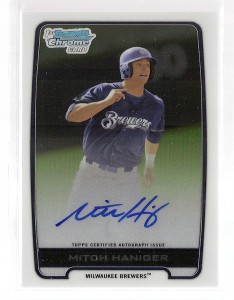 2012 Bowman Draft Pick and Prospects Baseball Prospect Autographs Guide 23