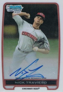 2012 Bowman Draft Pick and Prospects Baseball Prospect Autographs Guide 30
