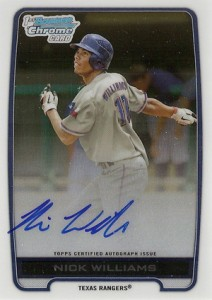 2012 Bowman Draft Pick and Prospects Baseball Prospect Autographs Guide 31