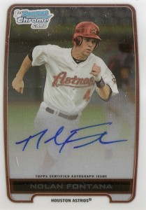 2012 Bowman Draft Pick and Prospects Baseball Prospect Autographs Guide 29