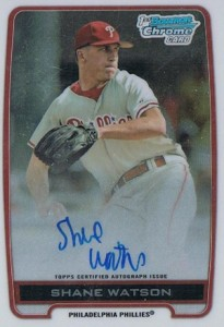2012 Bowman Draft Pick and Prospects Baseball Prospect Autographs Guide 37