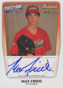 2012 Bowman Draft AFLAC, Perfect Game and Under Armour Autographs Guide 6