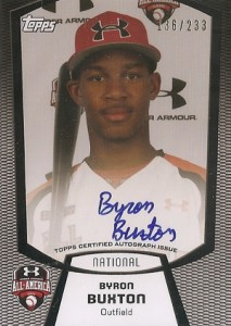 2012 Bowman Draft AFLAC, Perfect Game and Under Armour Autographs Guide 2