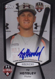 2012 Bowman Draft AFLAC, Perfect Game and Under Armour Autographs Guide 11