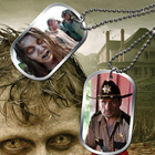 2013 Bulls I Toy Walking Dead Season 2 Dog Tags