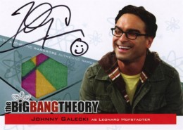 2013 Cryptozoic Big Bang Theory Seasons 3 and 4 Autographs Guide 1