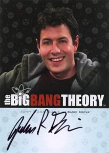 2013 Cryptozoic Big Bang Theory Seasons 3 and 4 Autographs Guide 10