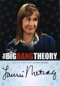 2013 Cryptozoic Big Bang Theory Seasons 3 and 4 Autographs Guide 12