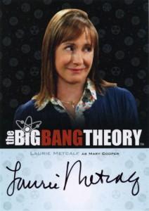 2013 Cryptozoic Big Bang Theory Seasons 3 and 4 Autographs Guide 12