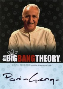 2013 Cryptozoic Big Bang Theory Seasons 3 and 4 Autographs Guide 14