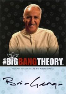 2013 Cryptozoic Big Bang Theory Seasons 3 and 4 Autographs Guide 14