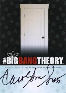2013 Cryptozoic Big Bang Theory Seasons 3 and 4 Autographs Guide 15