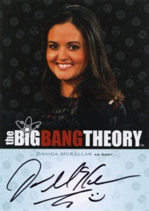 2013 Cryptozoic Big Bang Theory Seasons 3 and 4 Autographs Guide 16