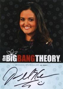 2013 Cryptozoic Big Bang Theory Seasons 3 and 4 Autographs Guide 16