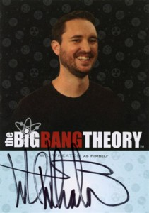 2013 Cryptozoic Big Bang Theory Seasons 3 and 4 Autographs Guide 17