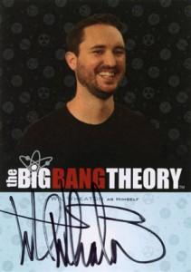 2013 Cryptozoic Big Bang Theory Seasons 3 and 4 Autographs Guide 17