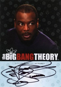2013 Cryptozoic Big Bang Theory Seasons 3 and 4 Autographs Guide 19