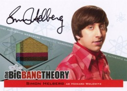 2013 Cryptozoic Big Bang Theory Seasons 3 and 4 Autographs Guide 4