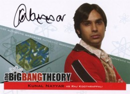 2013 Cryptozoic Big Bang Theory Seasons 3 and 4 Autographs Guide 5