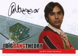 2013 Cryptozoic Big Bang Theory Seasons 3 and 4 Autographs Guide 5