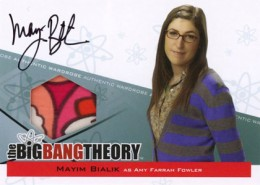 2013 Cryptozoic Big Bang Theory Seasons 3 and 4 Autographs Guide 6