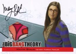 2013 Cryptozoic Big Bang Theory Seasons 3 and 4 Autographs Guide 6